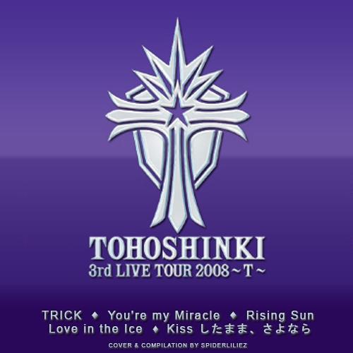 tohoshinki tvxq � 3rd live tour 2008 t minialbum